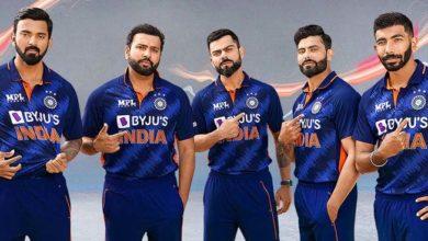 टी 20 विश्वचषक स्पर्धेत टीम इंडिया नव्या जर्सीत खेळणार