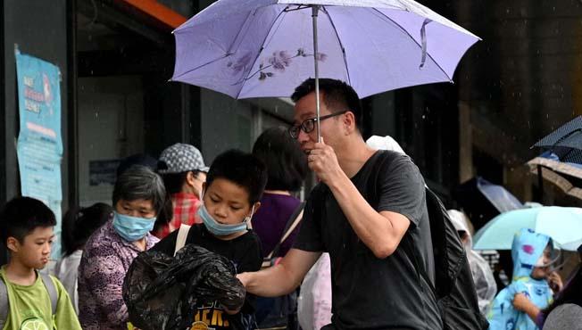 China children and parents