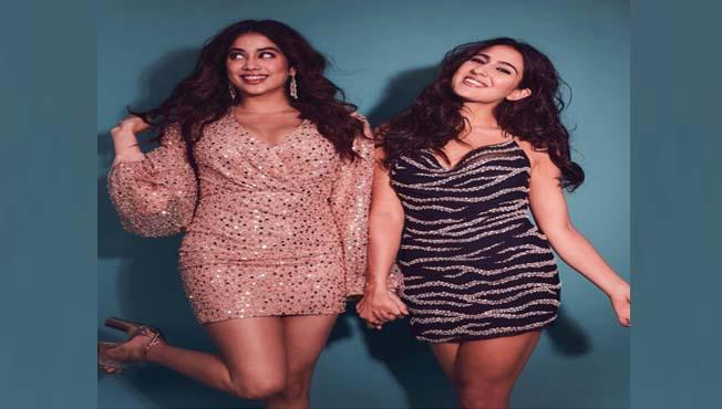 (Sara Ali Khan & Janhvi Kapoor)
